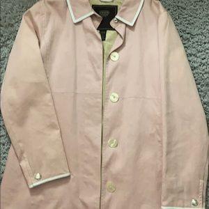 Vintage Coach trench coat.
